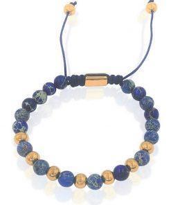 תמונה של צמיד חרוזים כחול מיוחד