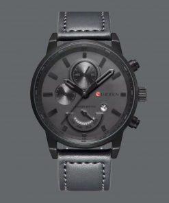 תמונה של שעון curren בצבע שחור יוקרתי