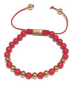 תמונה של צמיד בצבע אדום