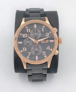 תמונה של שעון יד לגבר בצבע אפור רוז