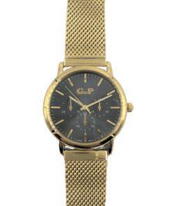 תמונה של שעוני gp בצבע זהב יפיפה ומלא בסטייל