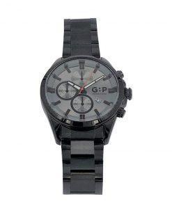 תמונה של שעון מיוחד לגבר בצבע שחור אפור