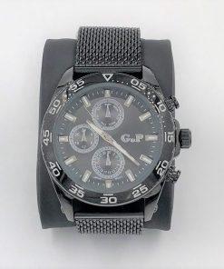 תמונה של שעונים לגבר בצבע שחור עשוי פלדה