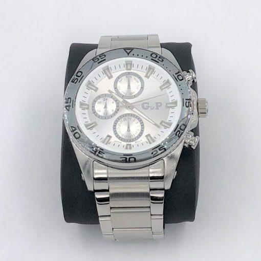תמונה של שעון לגבר מבית gp בצבע כסף