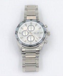 תמונה של שעון gp לגבר יוקרתי ומיוחד בצבע כסף
