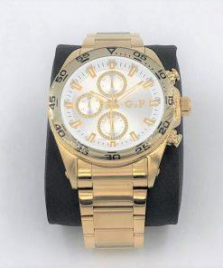 תמונה של שעון gp לגברים בצבע זהב