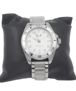 תמונה של שעון gp לגבר בצבע כסף מיוחד