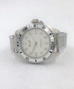 תמונה של שעון gp לגבר בצבע כסף יוקרתי