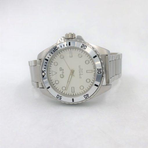 תמונה של שעון יד לגברים בצבע כסף מבית gp עשוי פלדת אל חלד