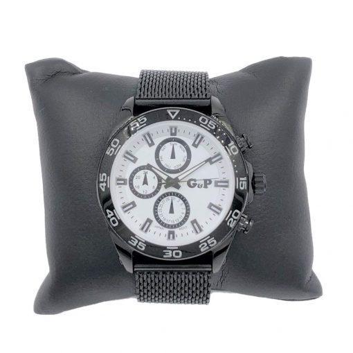 תמונה של שעוני gp לגברים בצבע שחור על כרית