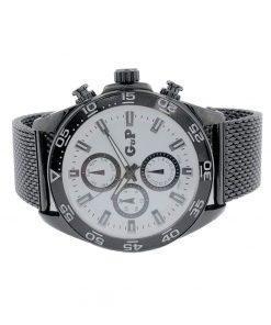 תמונה של שעון יד לגבר מבית gp בצבע שחור יוקרתי